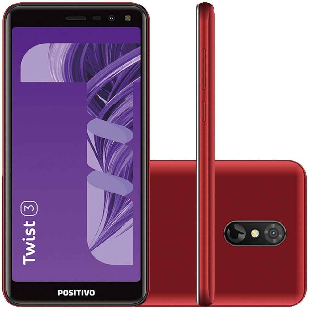 Imagem de Smartphone Positivo Twist 3 S513 32GB